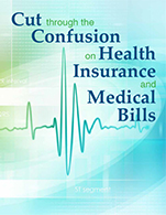 Cut Through The Confusion on Health Insurance and Medical Bills Logo